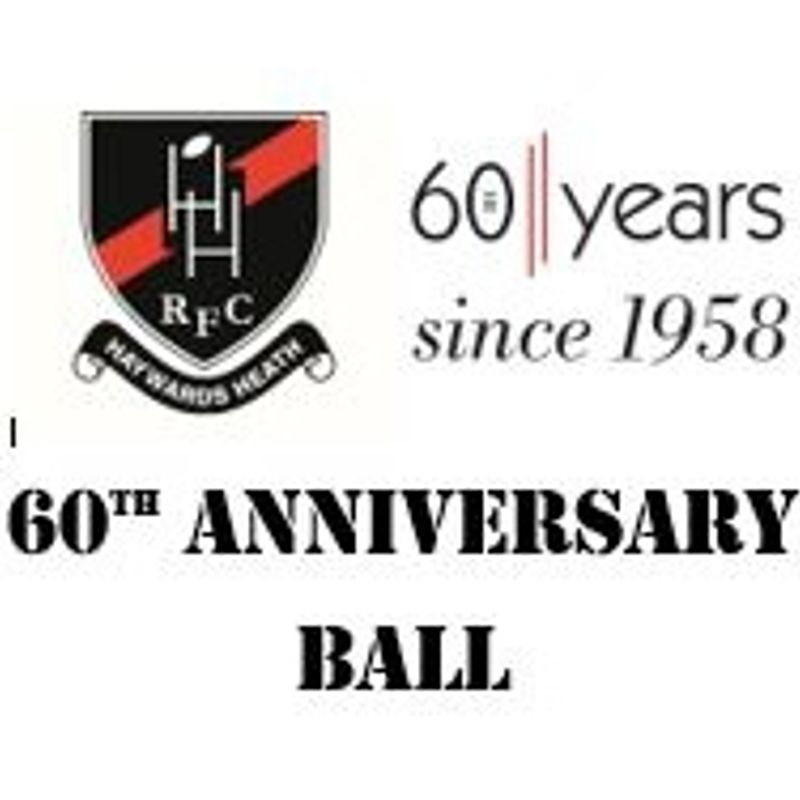 NEW VENUE - 60th Anniversary Ball