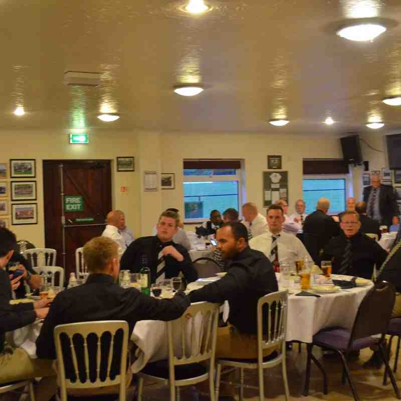 Club end of season awards dinner 2015/16