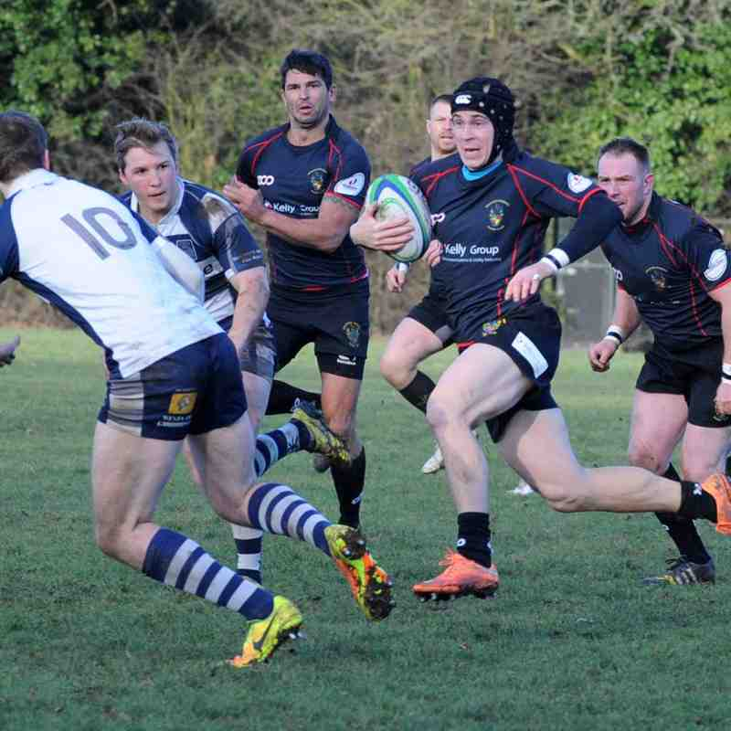 Rochford Hundred 1st XV vs Cantabrigians 140117