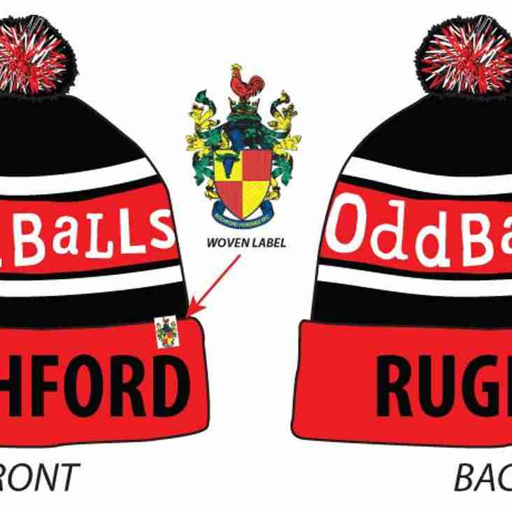 Rochford Hundred Oddballs bobble hats now available to raise awareness of testicular cancer