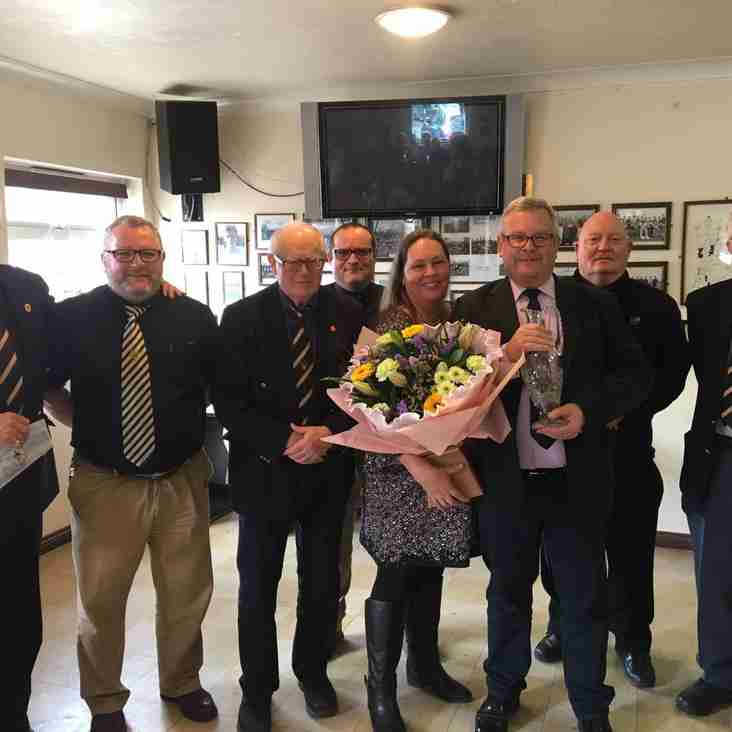 Simon Wakefield retires after 40 years as Club Secretary