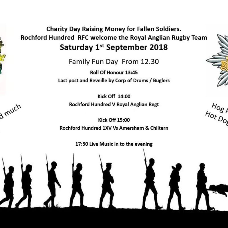 Charity Day Raising Money for Fallen Soldiers