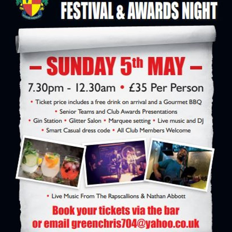 End Of Season Festival and Awards night