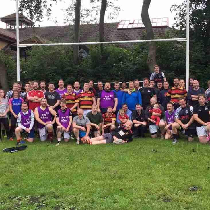 Charity Touch Event 10th June raises over £2K