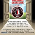 Open  sessions for All age groups