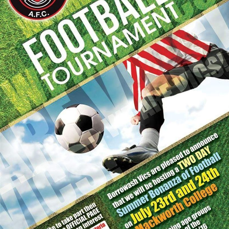 Junior Football Tournament 23rd/24th July