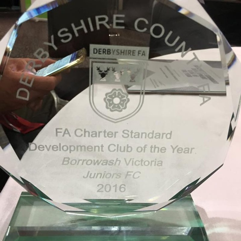 Development Club Of The Year award