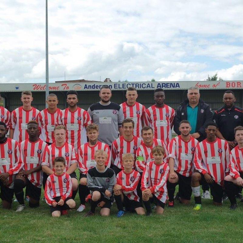 Selston 3 - 3 Borrowash Victoria