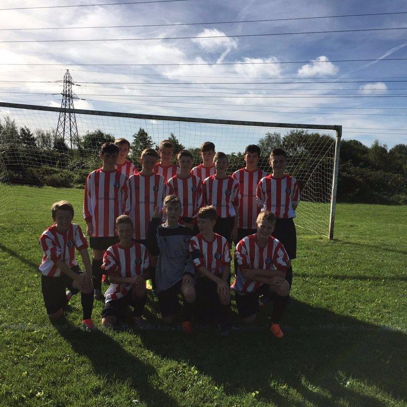 Borrowash Victoria U14 Sun lose to MICKLEOVER RBL 8 - 0