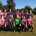 Borrowash Victoria U16 Sat beat AFC CHELLASTON 1 - 3