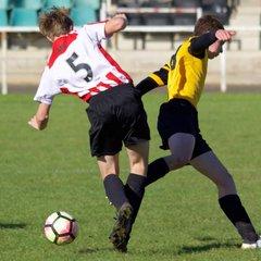 Borrowash Victoria U15 v Derwent Fc - Sun  9 Oct 2016