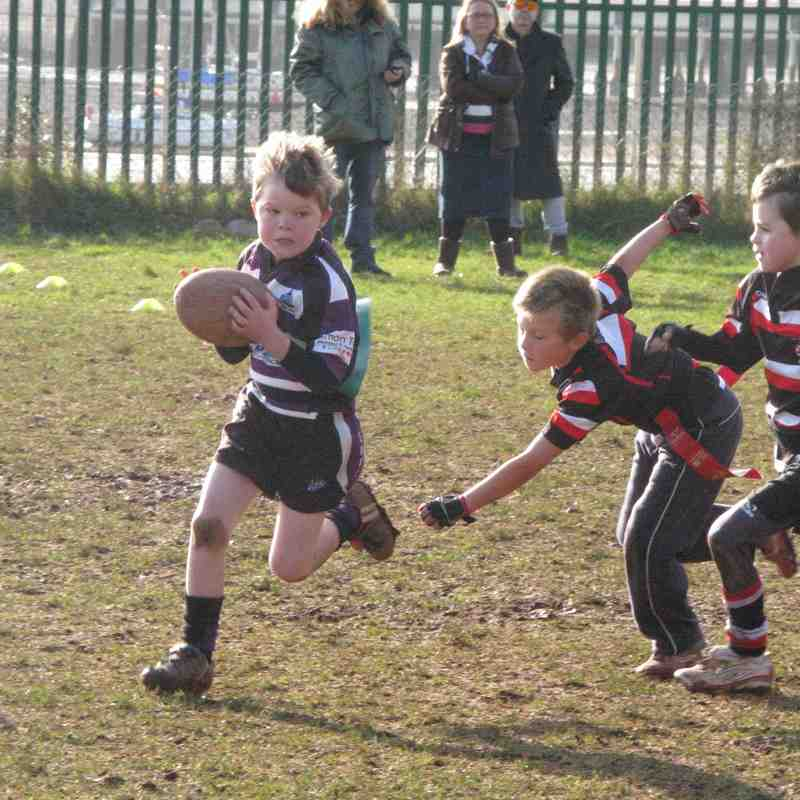 U8s vs Teignmouth 01/02/15