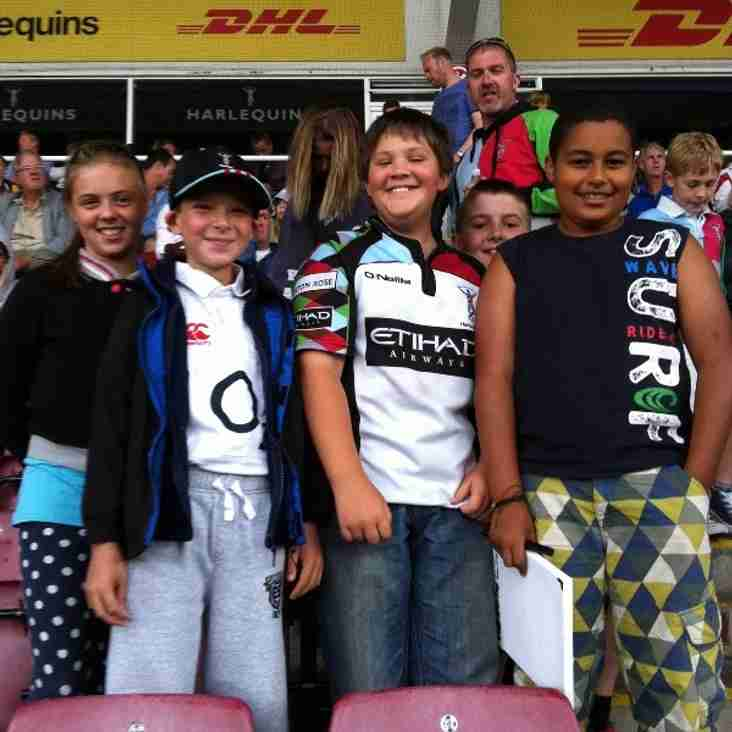 U12s at The Stoop