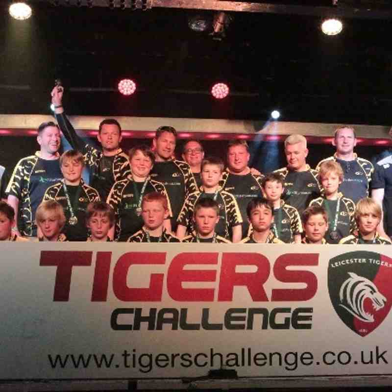 U12's Tigers Challenge 1 - The warm up