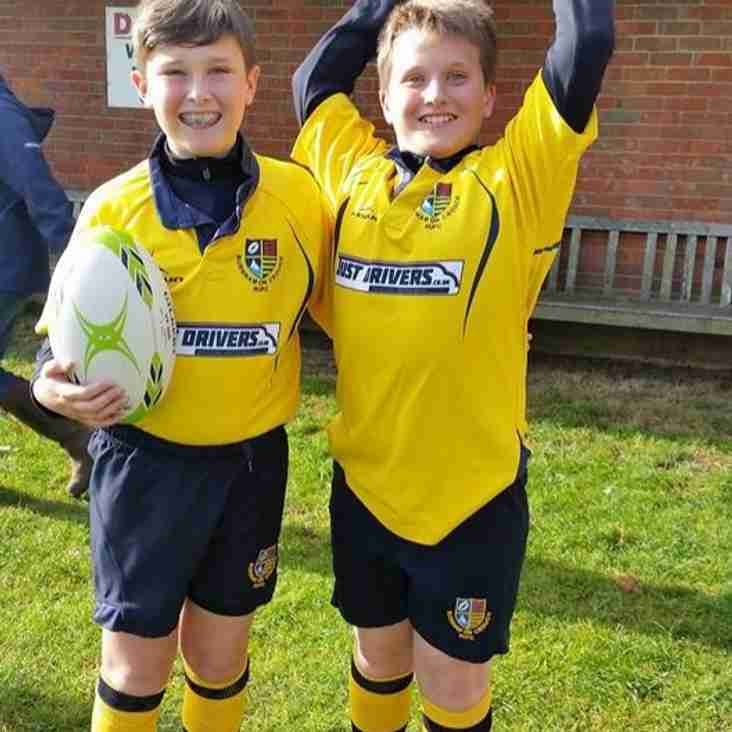 Gregory for player of the week for his immense improvement and fantastic tackling!