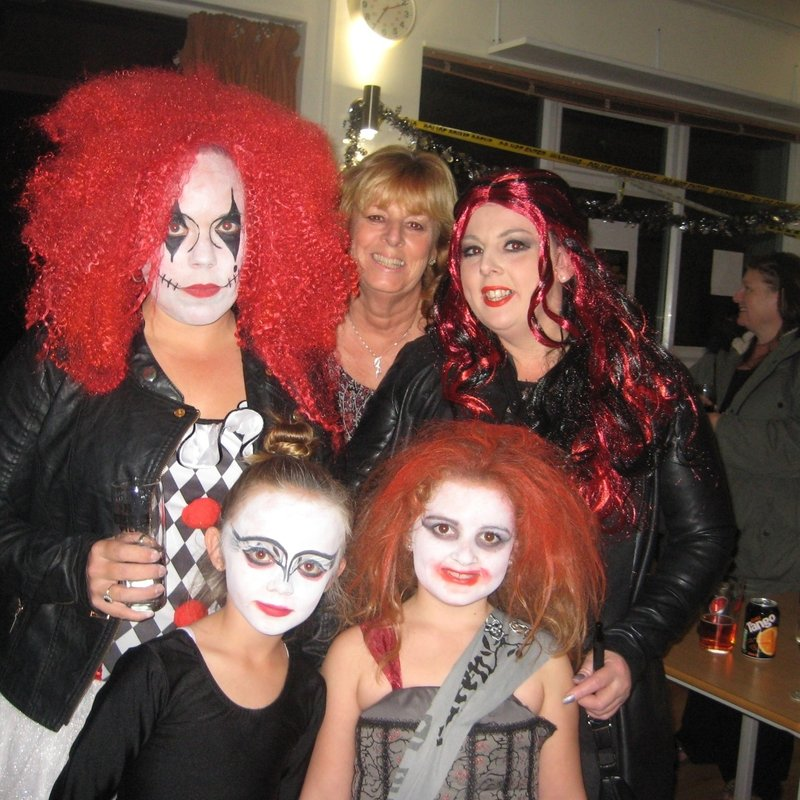 Ella Yeoman, Cara Jones steam in for winners of the best dressed zombies competition