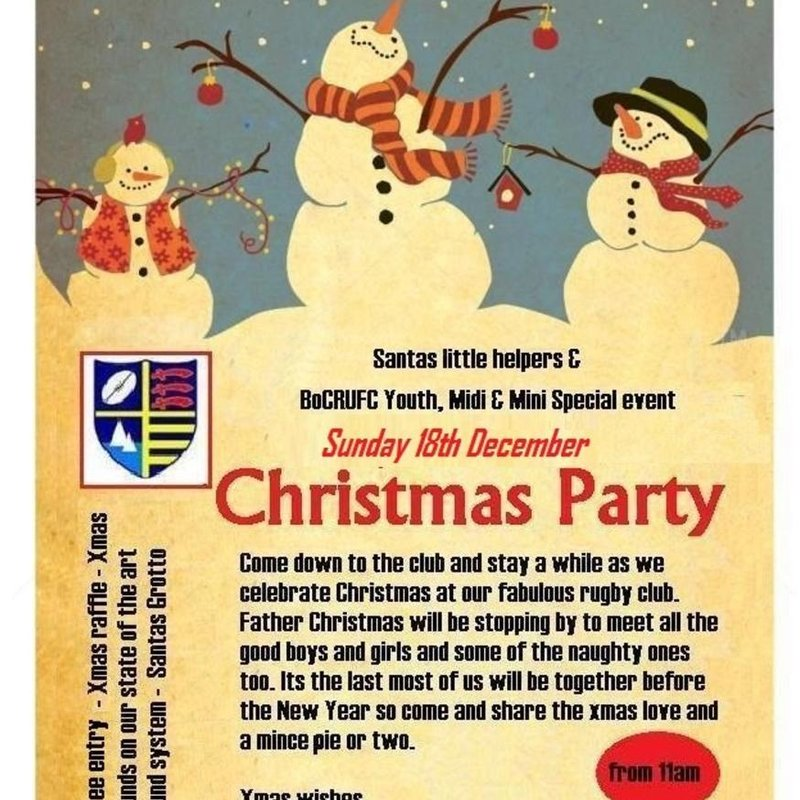 CHRISTMAS PARTY TIME - 18 December