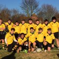 Burnham U14s played Rochford in a closely contested game.
