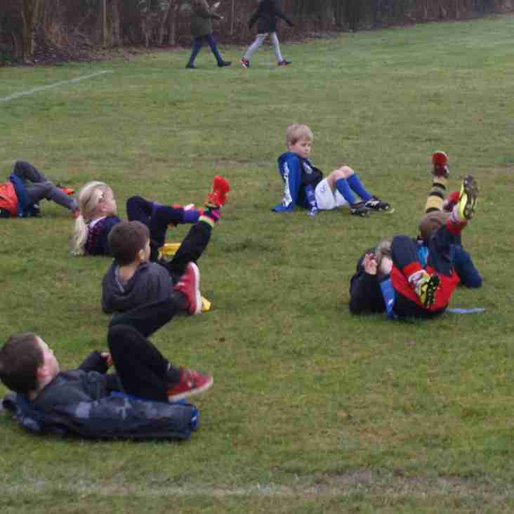 Under 6s enjoying a game of Dead Ants!