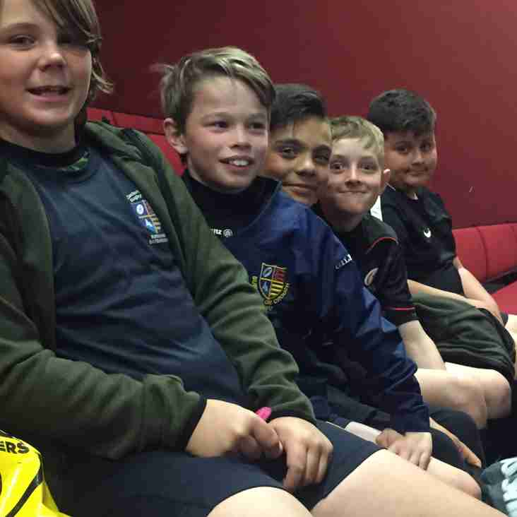 FIVE PLAYERS TREATED TO SARACENS MASTERCLASS