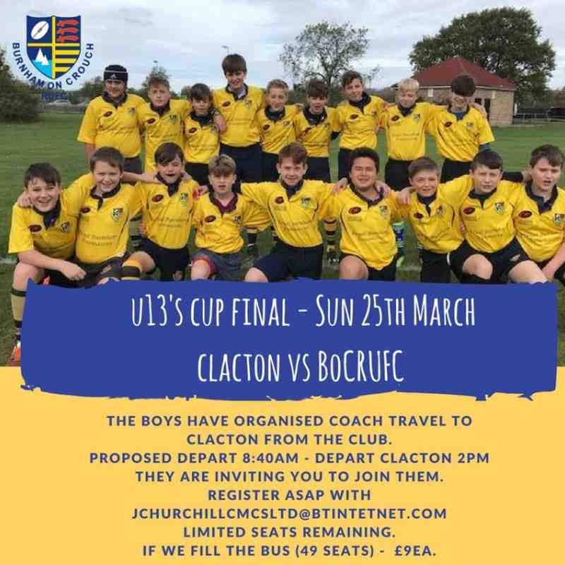 under 13s 2018 cup final
