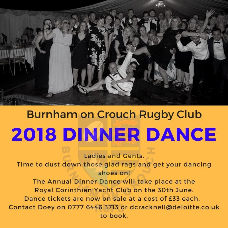Burnham on Crouch Rugby Club Dinner & Dance