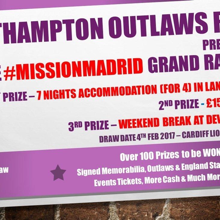 Grand Raffle for #MissionMadrid<