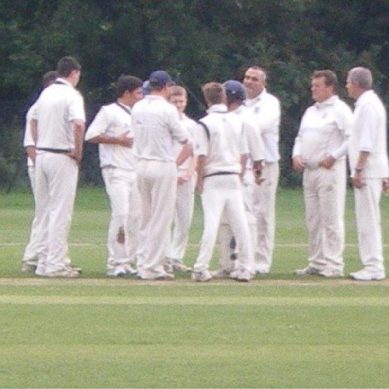 Geddington Cricket Club 2nd Team 214/3 - 50 Stoke Bruerne Cricket Club 2nd Team