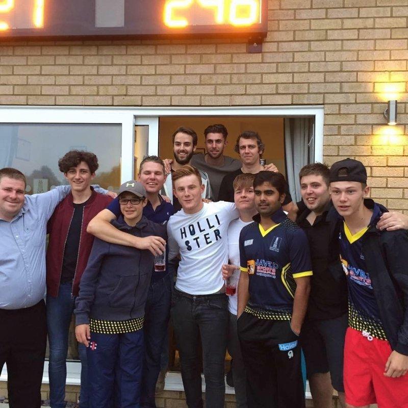 Drawn: Geddington Cricket Club 1st XI - Weekley & Warkton Cricket Club 1st XI