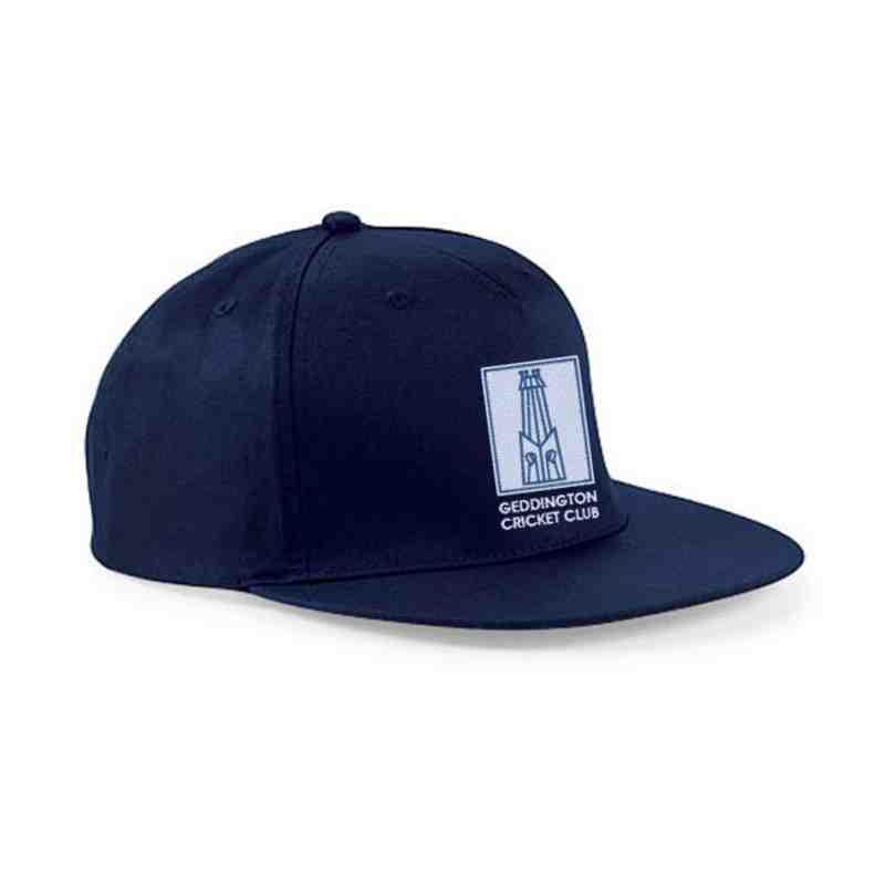 Geddington CC Navy Snapback Hat