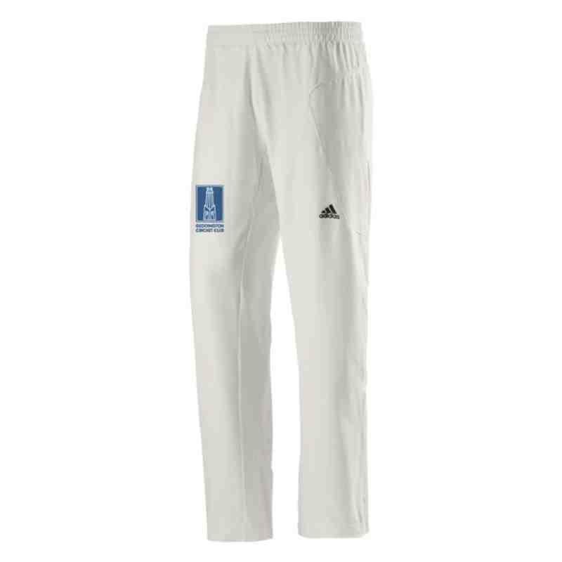 Geddington CC Adidas Junior Playing Trousers