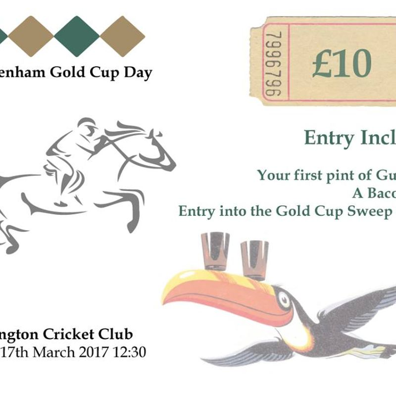 Cheltenham Gold Cup Day at Geddington Cricket Club