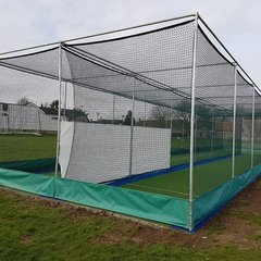 Geddington Cricket Club New Outdoor Nets January-March 2017 Pictures: