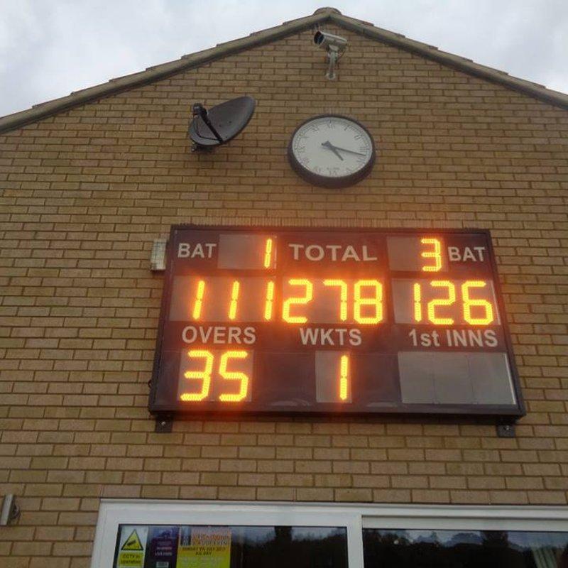 Geddington Sunday XI V Woodford Sunday XI Match Report: