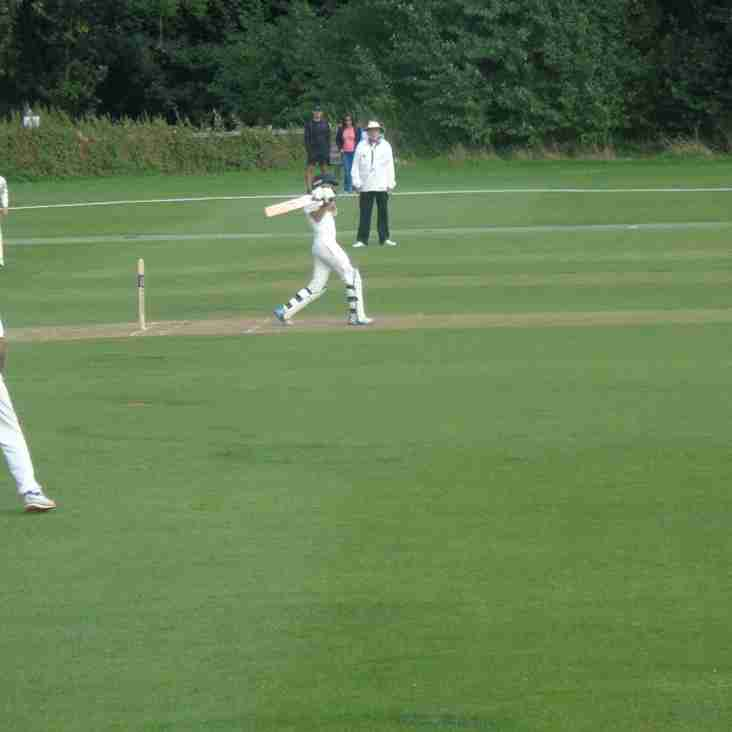 Northamptonshire Under-13's V Warwickshire Under-13's At Geddington CC Match Report: