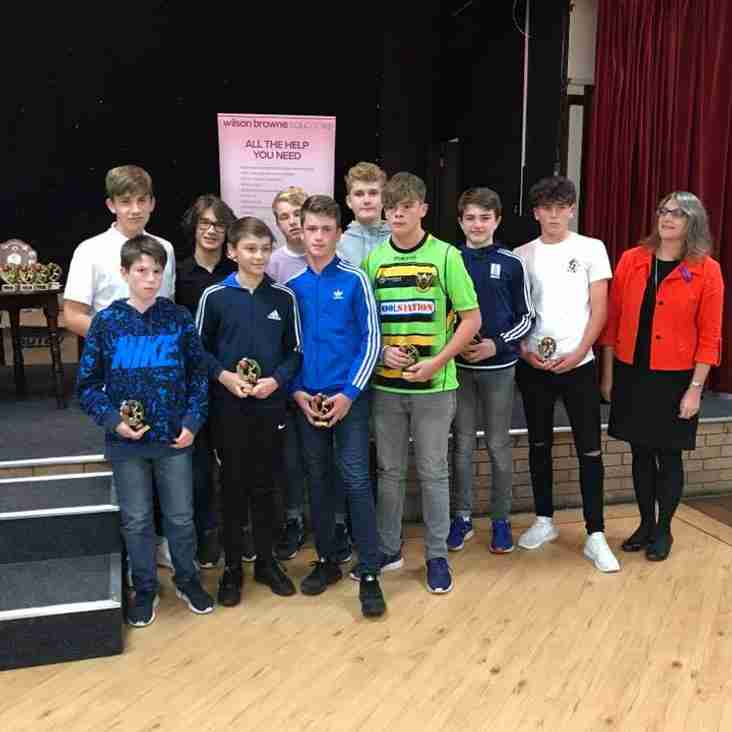 Corby & District Youth Cricket League 2017 Awards