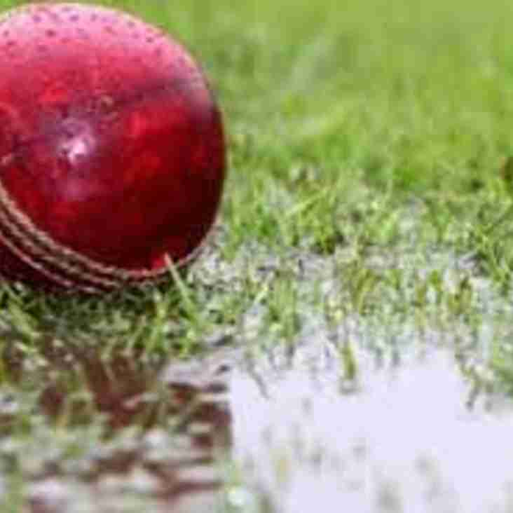 Start Of The Northamptonshire Cricket League 2018 Season Postponed Due To Poor Weather.