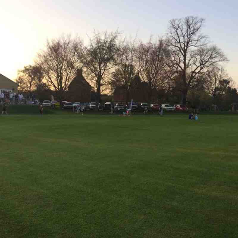 Geddington Cricket Club 2018 First Junior Outdoor Training Session - Friday 20th April 2018 Pictures:
