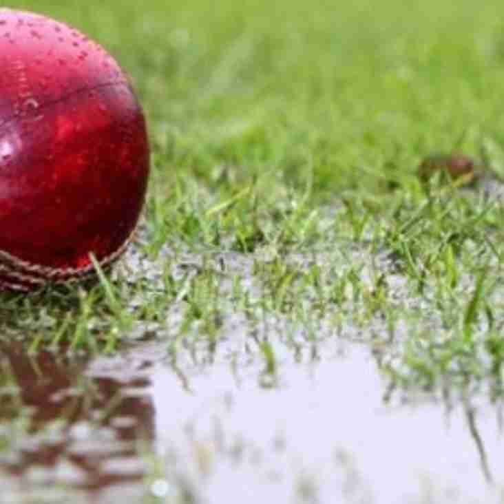 All Saturday Geddington Cricket Club NCL Matches Called Off: