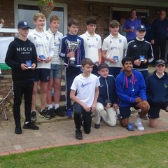 Corby & District Youth Cricket League Under-15's Cup Finals Day Sunday 17th June 2018 Pictures: