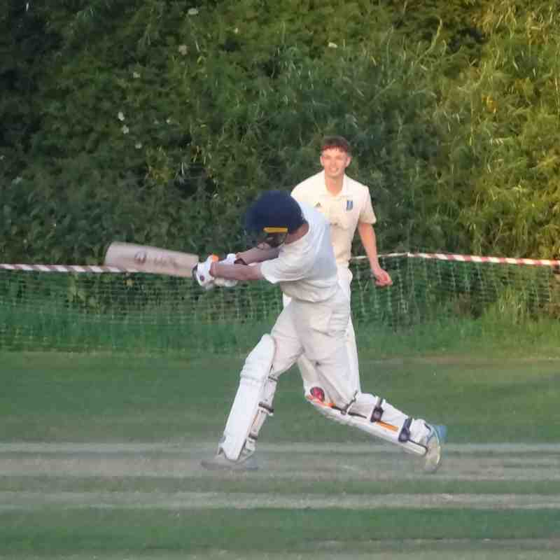Geddington Under-15's County Champions V Geddington Chairman's XI 29th June 2018 Pictures: