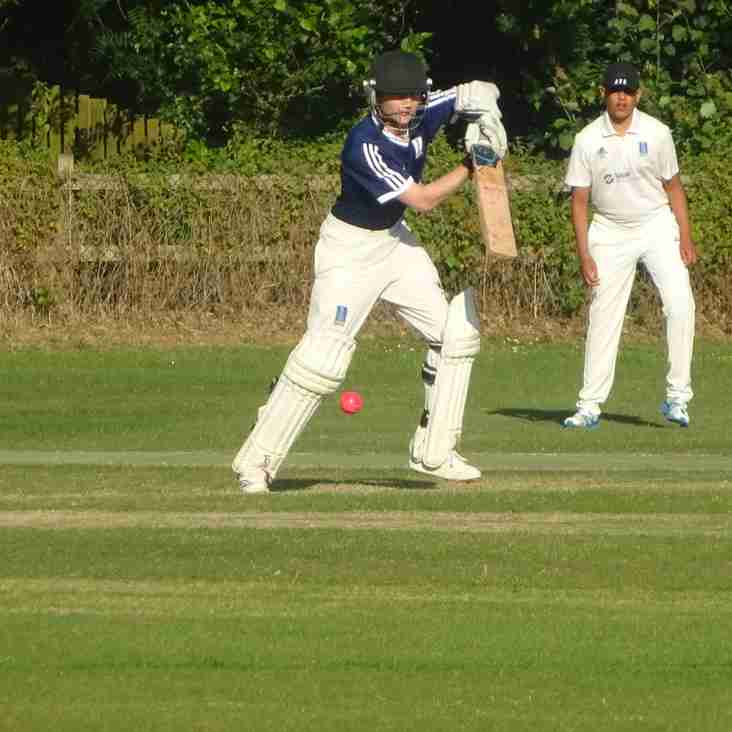 Geddington Under-15's County Champions V Geddington Chairman's XI Match Report - Friday 29th June 2018