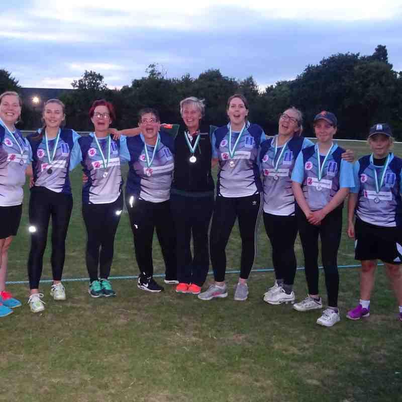 Geddington Ladies V Thrapston Yellows Ladies Last Woman Stands League Plate Final 15th August 2018 Pics: