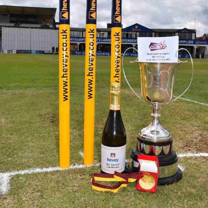Northamptonshire Cricket League 2019 T20 Championship Draw & Rules Information: