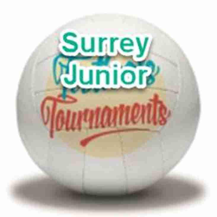 Surrey Junior Tournament - 29April 2018