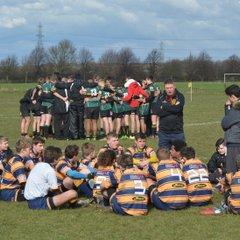 U15 County Cup Quarter Final Loughborough v Vipers