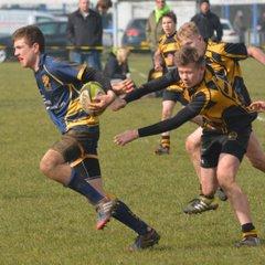 Loughborough U15 v Hinckley - County Cup Semi Final 13th March 2016