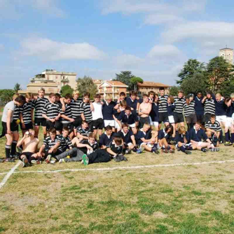 U16 Tour to Rome