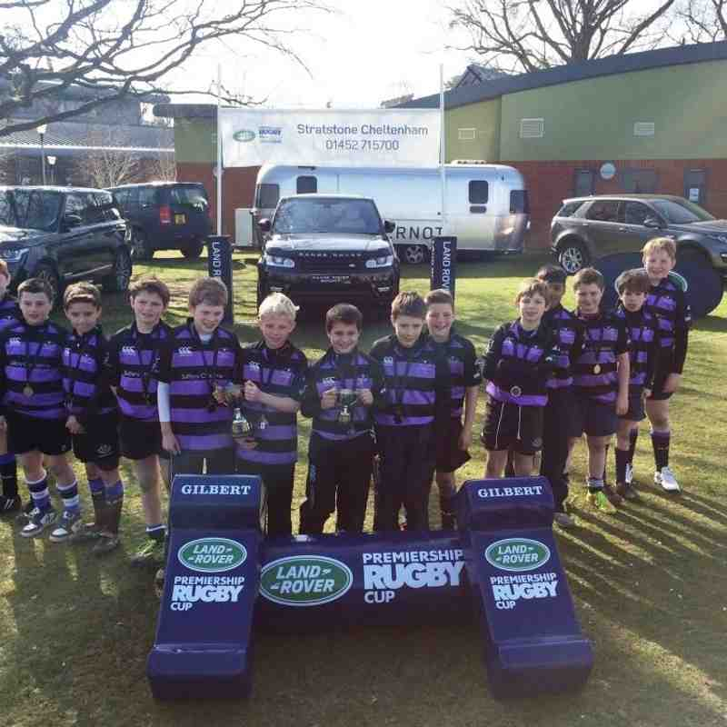 U11s Land Rover Cup Win