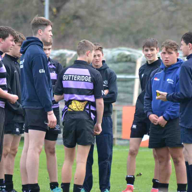 Clifton RFC U16 vs Rumney 25/11/18